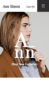 ファッション&アパレル website templates – Fashion Designer Boutique