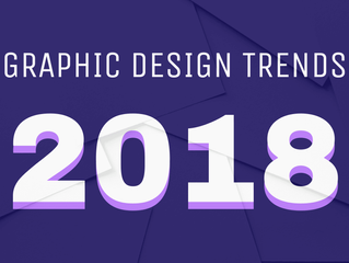 8 New Graphic Design Trends That Will Take Over 2018