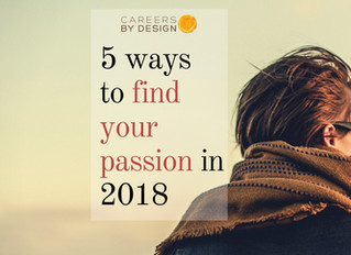 A Few Ways To Find Your Passion in 2018