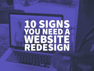 10 Signs You Need A Website Redesign