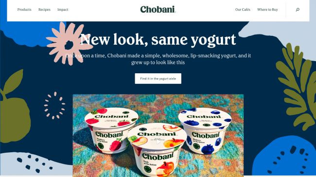 Chobani's new look brings warmth to fonts