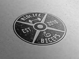 Logo Design for Midlife Biceps