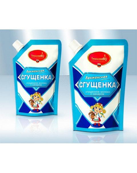 Сгущенное Молоко С Сахaром 5,1% 250g