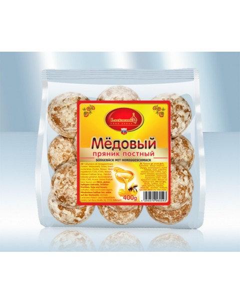 Пряник Постный С Медовым Вкусом 400g/lack