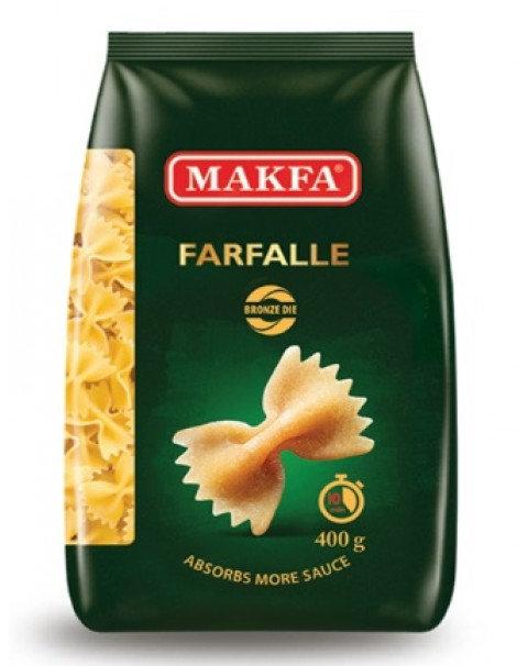 "Pasta, Bronze ""Farfalle"", Makfa - 400g"