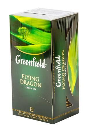 """Чай """"Greenfield"""" 25Stx2g зел. Флаинг Драгон"""