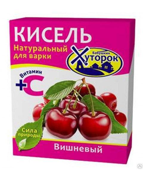 Бабушкин Хуторок Кисель Вишневый Вкус 180g