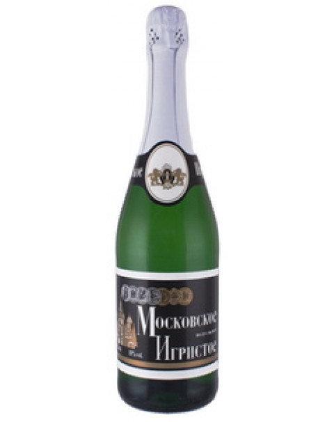 "Sparkling Wine White Semi Sweet ""Moskowskoye"" - 10% Alc. 0.75L"