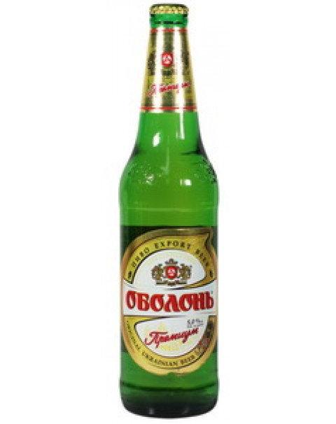 "Beer ""Obolon Premium"" Alc. 5.0% 0.5L/Пиво Оболонь ""Премиум"" Alc. 5.0% 0.5L"