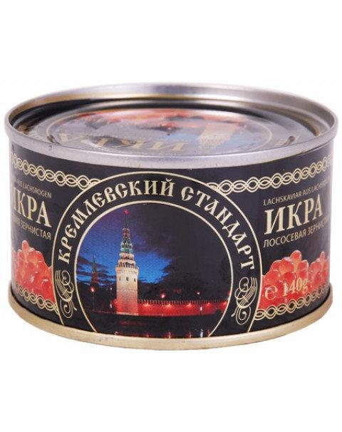 Caviar /Lemberg Икра Красной Горбуши -140g Кремлевский Стандарт.