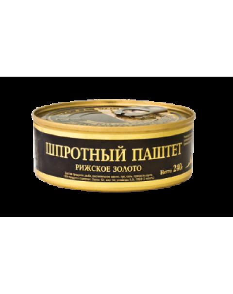 Riga Gold - Шпротный Паштет 240г