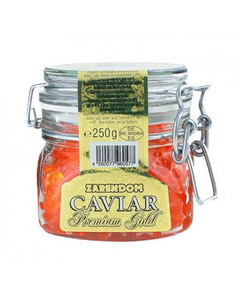 Caviar / Икра Лососевая Кеты 250г /Zaren Dom