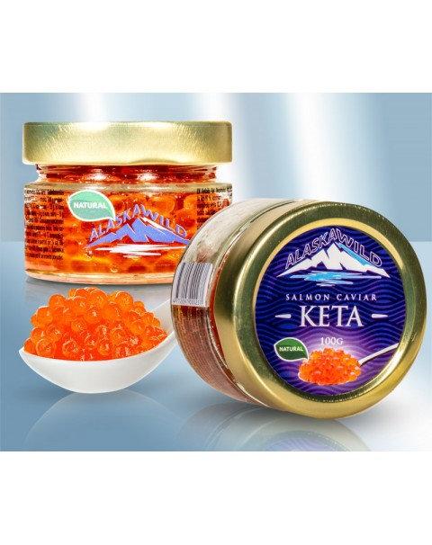 Икра Keta - Alaska Wild - ( В Стекле) 100g
