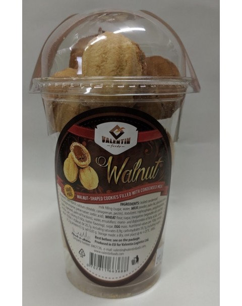 Walnut - Walnut Shaped Cookies Filled With Condensed Milk - 300g