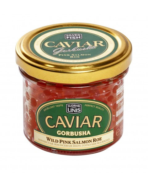 CAVIAR / Wild Gorbusha Salmon Roe Premium (Pink - Gorbusha) 100g