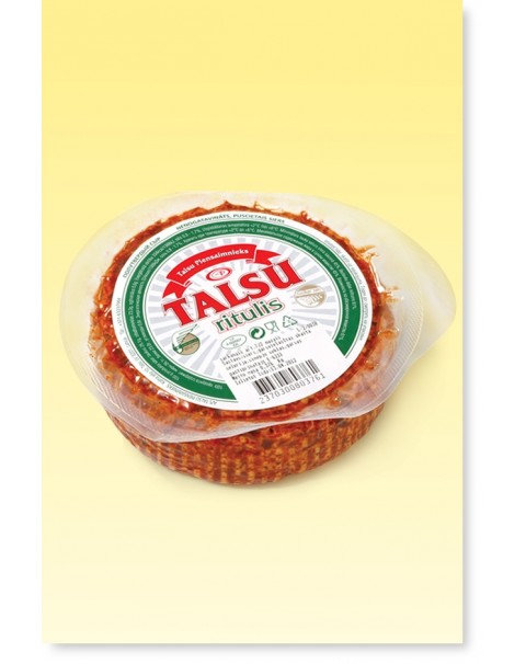 Talsiu Round Cheese - Red 400g