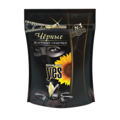 Y.E.S. - Roasted Black Sunflower Seeds 150g
