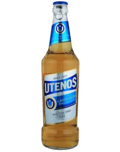 """BEER """"UTENOS"""" 5.0% ALC. 0.5L"""