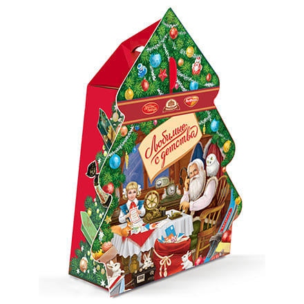 New Years Fairy Tale Christmas Sweets Gift 500g