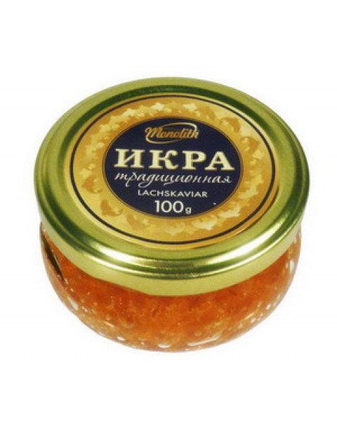 Caviar, Salmon, Red, 100g / Икра Красная 100g