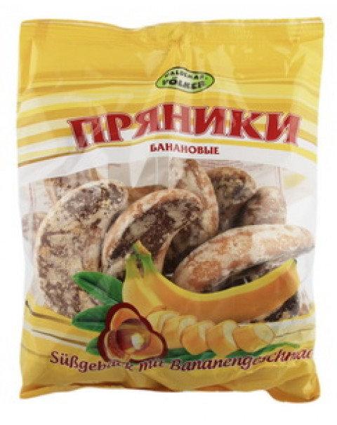 Gingerbread With Banana Flavour / Пряники С Банановым Вкусом 400g