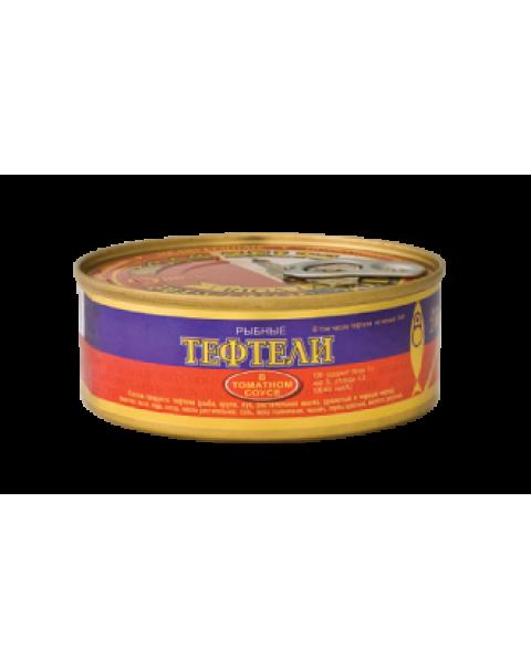 Riga Gold - ТЕФТЕЛИ В Томатном Соусе 240г