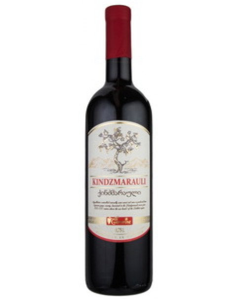 "Wine, Red, Medium Sweet ""Kindzmarauli"", Geowine 11.5% Alc. 0.75L/ Красное Полусл"