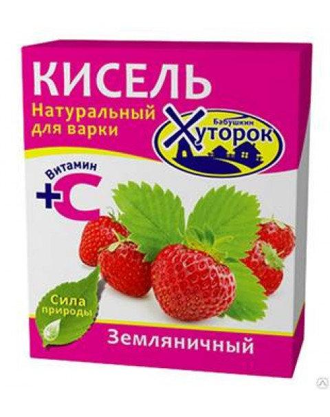 Бабушкин Хуторок Кисель Земляничный Вкус 180g