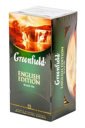 """Чай """"Greenfield"""" Englisch Edition 25штx2г"""
