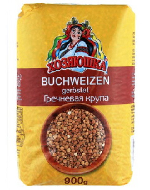 "Buckwheat ""Крупа Гречневая Хозяюшка - 900g"