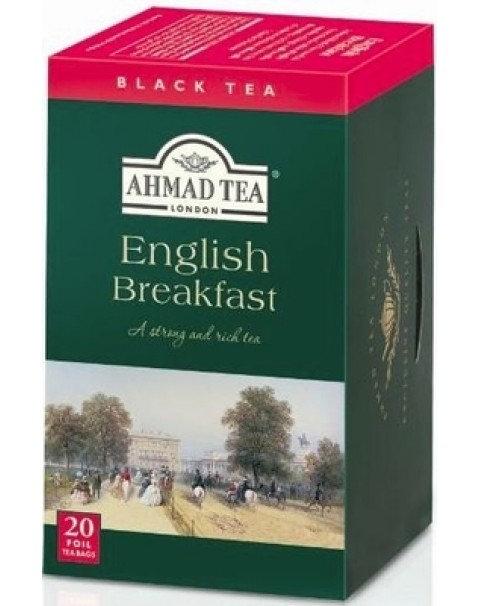 Чай AHMAD TEA Английский Завтрак (20 Пакетиков X 2г)