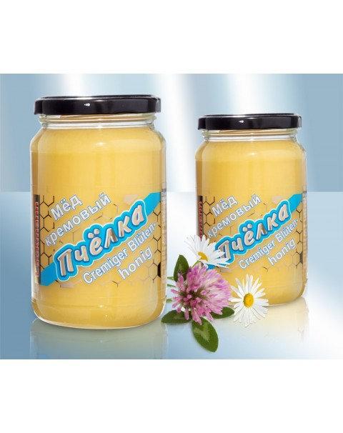 Мед Цветочный Кремовый -460г