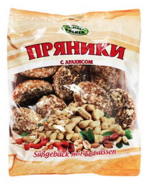 """Gingerbread """"Nutty / Orehoviye"""" With Nutty Flavour/ Пряники """"Ореховые"""" 400g"""