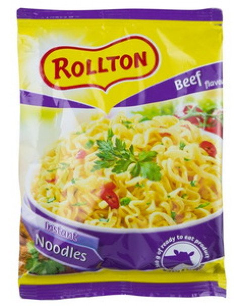 "Pasta, Noodle With Beef Flavour ""Rollton"" - 60g"