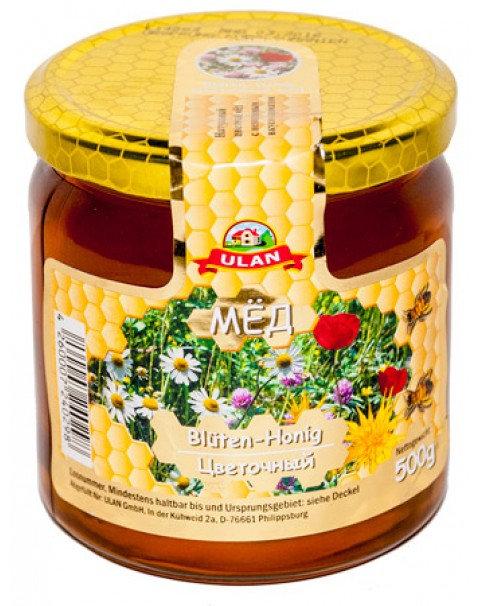 Мёд Цветочный 500ml