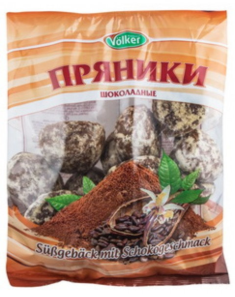 "GINGERBREAD WITH CHOCOLATE FLAVOUR /ПРЯНИКИ ""ШОКЛАДНЫЕ"" 400G"