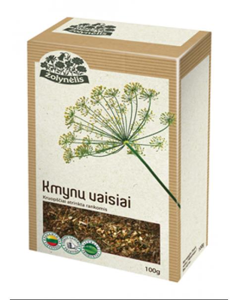 Травяной Чай Тмин. 100г / Žolelių Arbata ŽOLYNĖLIS (KMYNŲ VAISIAI), 100g