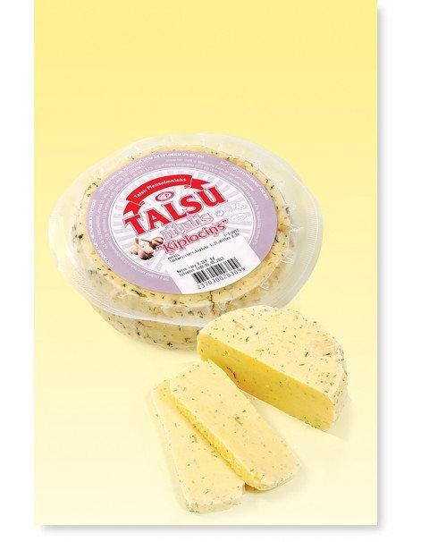 Talsu Round Cheese With Garlic ~ 400g