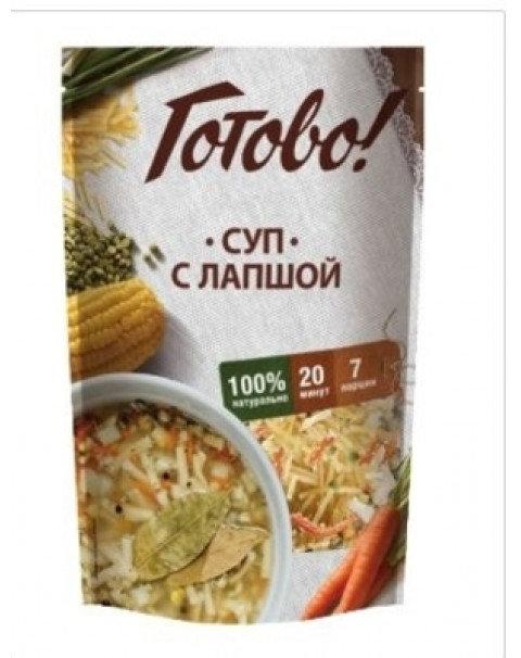 (ТМ «Готово»)-Суп С Лапшой 150г