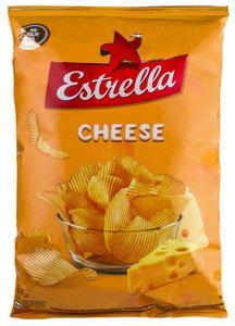 """Crisps, Cheese """"Estrella"""" -140g -Чипсы """"Estrella"""" с сыром 140g"""