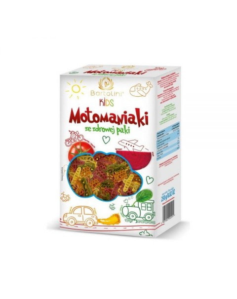 "Pasta In Five Flavors For Kids ""Motomaniaki - Bartolini Kid"