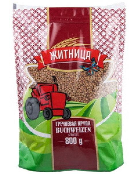 "Buckwheat ""Zhitnica""- 800g - Гречневая Крупа Житница- 800г"