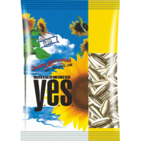Y.E.S. - Roasted Salted Striped Sunflower Seeds 150g