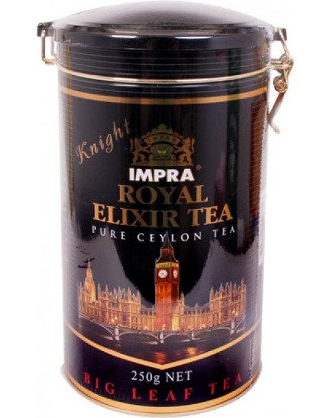 """IMPRA Чай """"Королевский Эликсир"""" Knight. Чёрный Крупнолистовой - 200g Жестяная Ба"""
