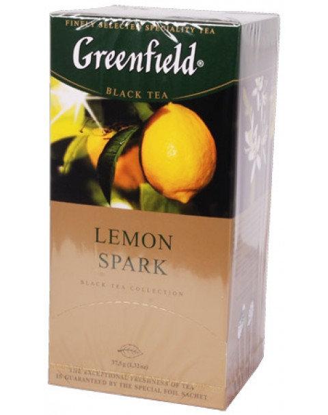 """Чай """"Greenfield"""" 25Stx1,5g Лемон Спарк"""