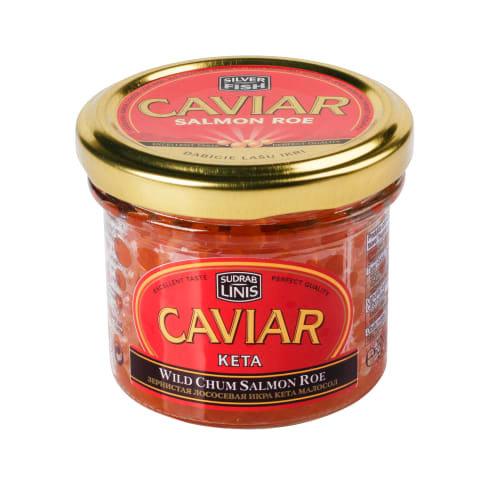 WILD CHUM SALMON ROE--- KETA Caviar - 100g