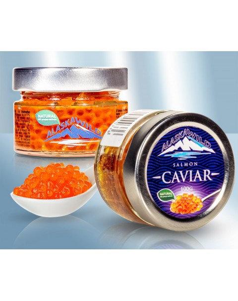 Caviar / Икра Горбуша - Alaska Wild - ( В Стекле) 100g