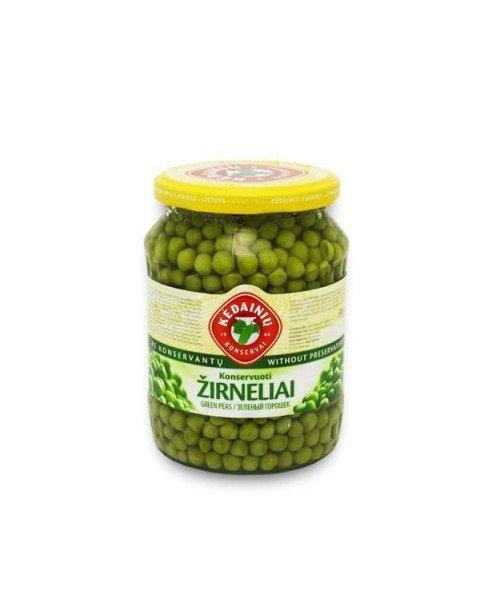 Kedainiu Konservai. Canned Green Peas / Горошек Зелёный Консервированный 690g.