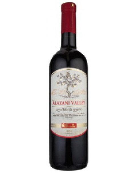 "Wine, Red, Medium Sweet ""Alazanskaya Dolina"", Geowine -12% Alc. 0.75L Вино Красн"
