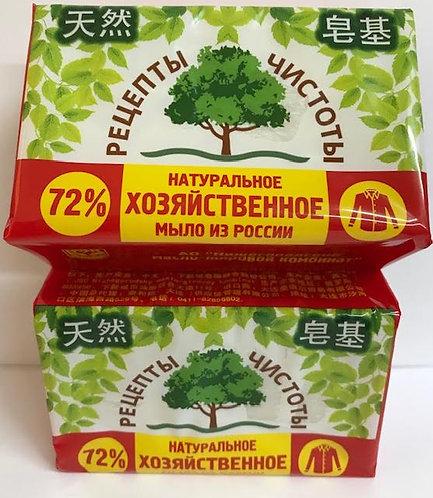 Натуральное хозяйственное мыло - 72% - 200г
